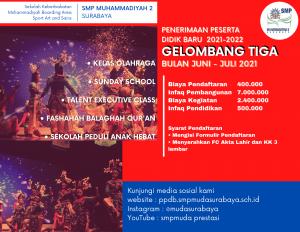 Read more about the article Informasi PPDB 2021 Gelombang Tiga Bulan Juni – Juli