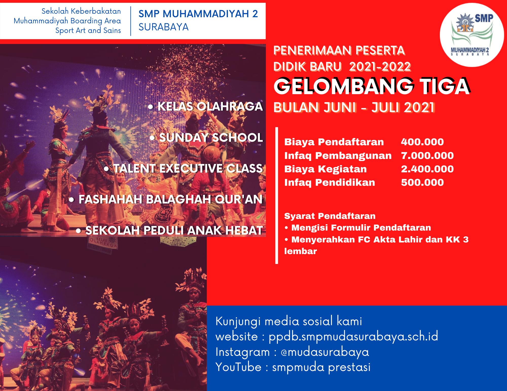 You are currently viewing Informasi PPDB 2021 Gelombang Tiga Bulan Juni – Juli