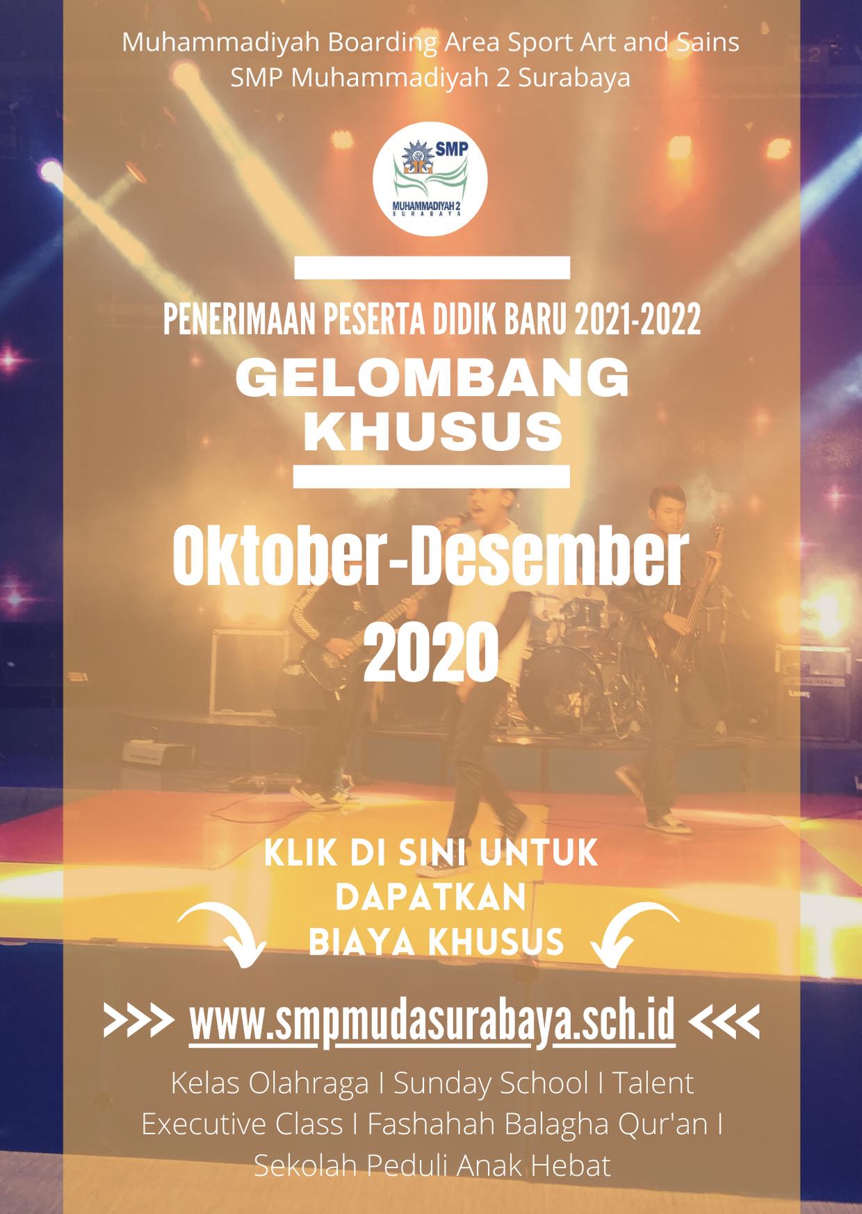 You are currently viewing Telah Dibuka Pendaftaran Gelombang Khusus